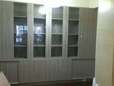25-H型玻璃門書櫃-400x300